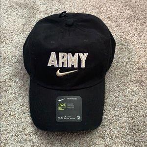 Black Army Nike hat